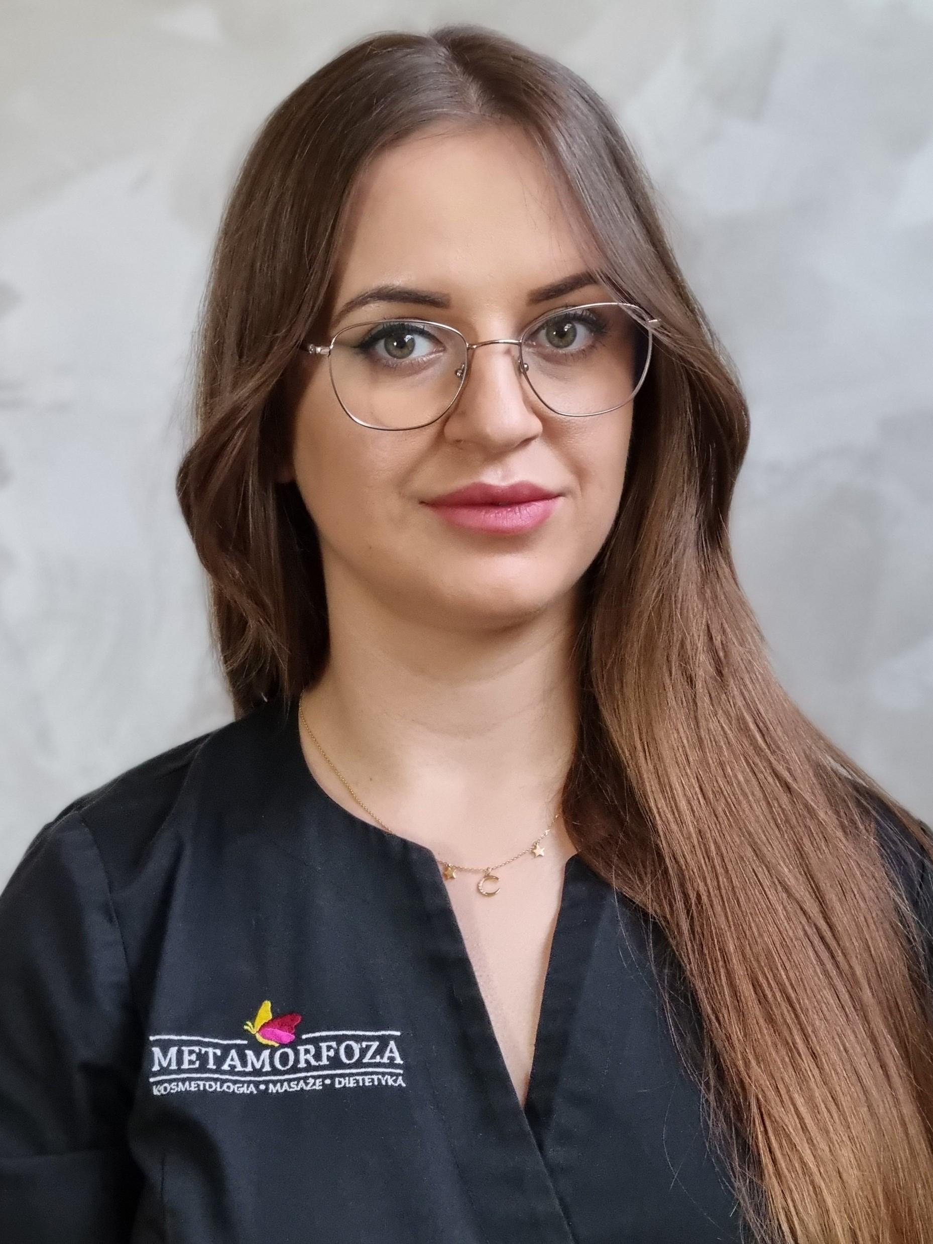Kosmetolog Weronika Gwiazdowska
